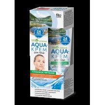 """Maitinantis veido kremas """" Aqua """" normaliai ir mišriai odai 45 ml"""