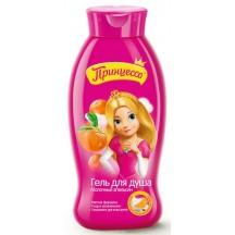"""Vaikiškas dušo gelis """" Princesė """" su apelsino ir pieno ekstraktu 400ml"""