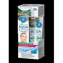 """Maitinantis kremas veidui """" Aqua """" sausai ir jautriai odai 45 ml"""