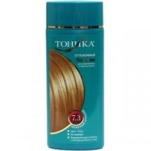 """Dažomasis plaukų balzamas """" Tonika - 7.3 pieniškas šokoladas """" 150 ml"""