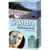 Kosmetinis žydras Baikalo jauninantis molis 100 g