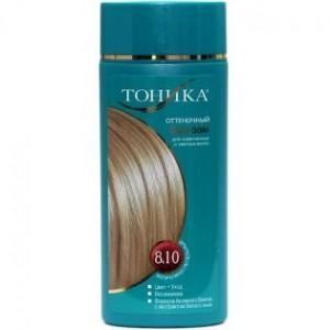 """Dažomasis plaukų balzamas """" Tonika - 8.10 """" 150 ml"""