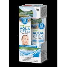 """Drėkinantis kremas veidui """" Aqua """" sausai ir jautriai odai 45 ml"""