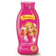 """Kremas - putos voniai vaikams """" Princesė """" su braškių ir jogurto ekstraktu 400 ml"""