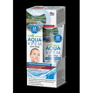 """Drėkinantis kremas veidui """" Aqua """" normaliai ir mišriai odai 45 ml"""