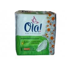 Higieniniai paketai ULTRA OLA NORMAL su ramunėlių ir alavijo ekstraktais 10 vnt.