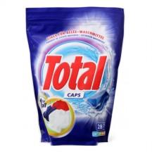 """Skalbimo kapsulės,gelinės """" TOTAL """" 28vnt*30g"""