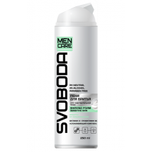 "Putos skutimuisi jautriai odai ""Svoboda, Men Care"" 250ml"